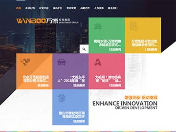 北京万博投资集团网站建设