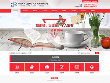北京博读天下自适应网站制作